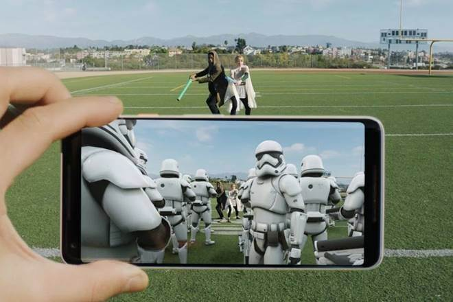 augmented reality in smartphones